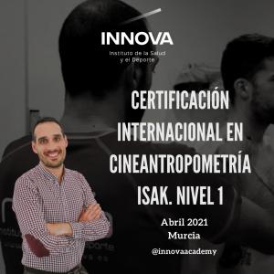 Cineantropometría ISAK: Nivel 1.